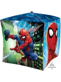"15"" Spider Man Cubez Marvel Balloon"