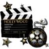 "30"" Clapper Reel Hollywood Balloon"