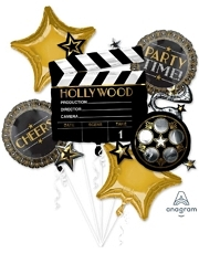 Lights Camera Action Hollywood Balloon Assoretment