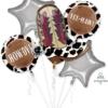 YeeHaw Cowboy Balloon Bouquet Assortment