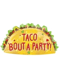 "33"" Taco Party Fiesta Balloon"