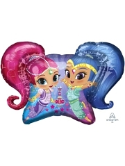 "31"" Shimmer & Shine Balloon"