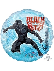 "17"" Black panther Marvel Balloon"