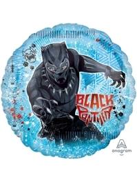 "28"" Black Panther Marvel Balloon"