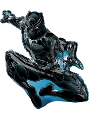 "32"" Black panther Shape Marvel Balloon"