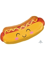 """33"""" Hot Dog Food Balloon"""