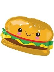 """26"""" Hamburger Food Balloon"""