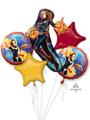 Captain Marvel Balloon Assortment