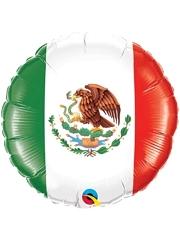 "18"" Mexican Flag Fiesta Balloon"