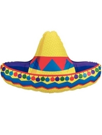 "34"" Sombrero Fiesta Balloon"