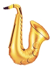 "37"" Saxophone Music Balloon"