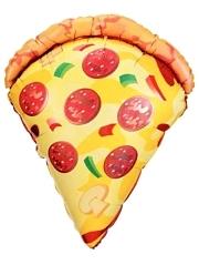 """28"""" Pizza Slice Food Balloon"""