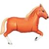 """43"""" Tan Horse Cowboy Balloon"""
