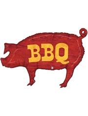 "35"" BBQ Pig Food Balloon"