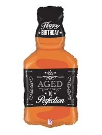 "34"" Aged To Perfection Whiskey Balloon"