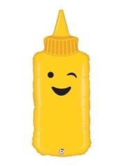 """35"""" Mustard Food Balloon"""