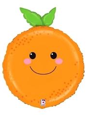 "26"" Produce Pal Orange Food Balloon"
