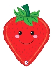 "26"" Produce Pal Strawberry Food Balloon"
