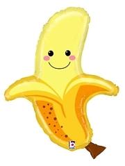 """30"""" Produce Pal Banana Food Balloon"""