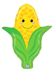 "27"" Produce Pal Corn Food Balloon"