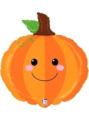 "29"" Produce Pal Pumpkin Food Balloon"