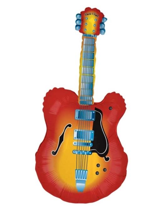 "43"" Electric Guitar Music Balloon"