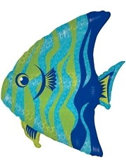 "28"" Angel Fish Ocean Balloon"