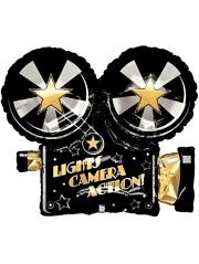 """32"""" Lights Camera Action Hollywood Balloon"""