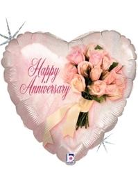 18' Anniversary Flower Bouquet Balloon
