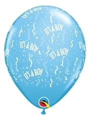 """11"""" It's A Boy Around Baby Balloon"""