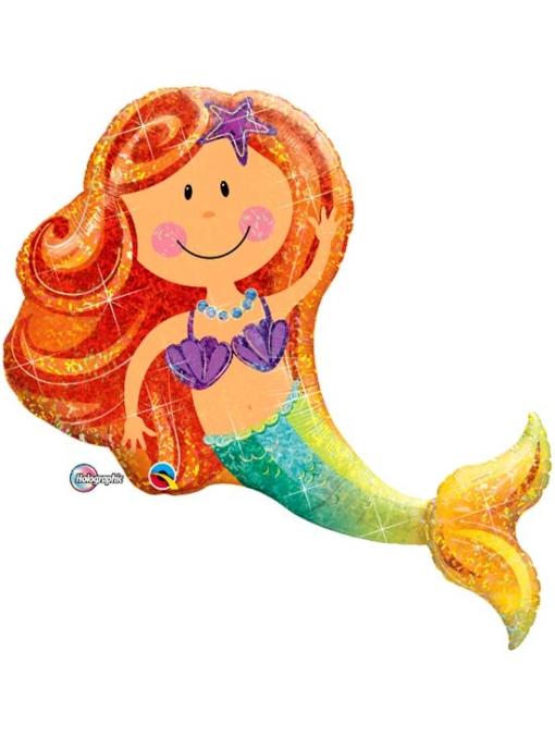 """38"""" Merry Mermaid Ocean Balloon"""