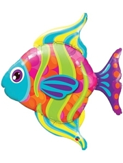 "43"" Fashionable Fish Ocean Balloon"