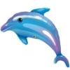 """42"""" Delightful Dolphin Ocean Balloon"""