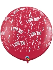 "36"" I Love You Around Balloon"