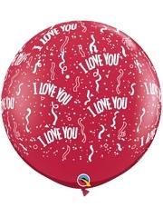 "36"" I Love You Around Balloon"