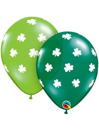 """11"""" Big Shamrocks St. Patrick's Day Balloons"""