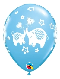 """11"""" It's A Boy Elephants Baby Balloon"""