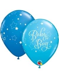 "11"" Baby Boy Stars Balloon"