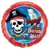 "18"" Pirate Ship Happy Birthday Balloon"
