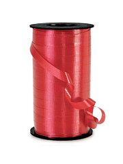 "3/8"" Red Curling Ribbon"