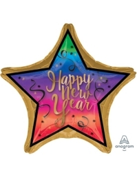 """28"""" Colorful New Years Balloon"""