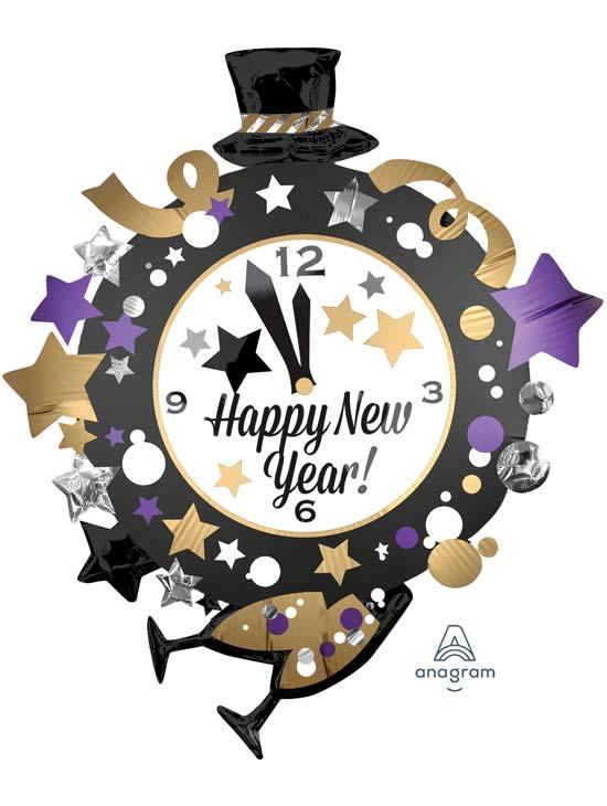 Happy New Year Balloons 45