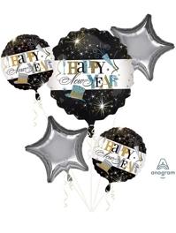 Elegant Celebration Balloon Assortment