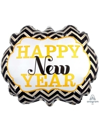 """25"""" Happy New Year Marquee Balloon"""