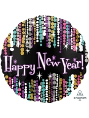 "17"" New Year Pizzazz Balloon"
