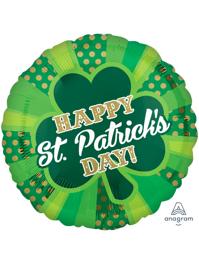 "17"" Dotty St. Patrick's Day Balloon"