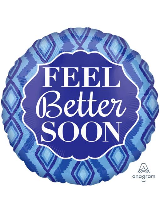 """17"""" Feel Better Soon Diamonds Balloon"""
