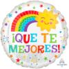 """17"""" Que Te Mejores Happy Sun Balloon"""