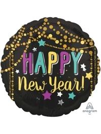 "17"" Festive New Years Balloon"