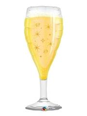 "39"" Champagne Glass Congratulation Balloon"